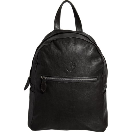 Made in Italy Leather Backpack (For Women)