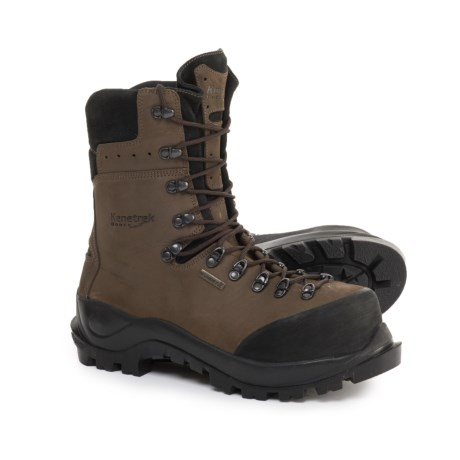 Made in Italy Lineman Extreme Work Boots - Waterproof, Composite Safety Toe (For Men) thumbnail