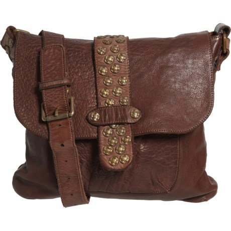 Made in Italy Studded Crossbody Bag -