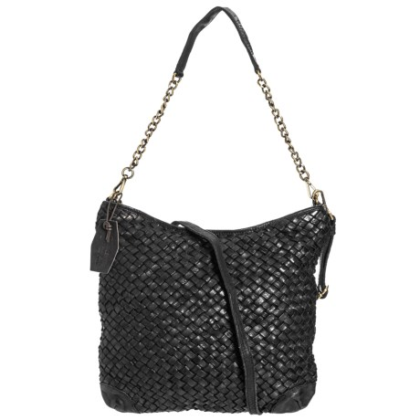 Made in Italy Woven Leather Crossbody Bag