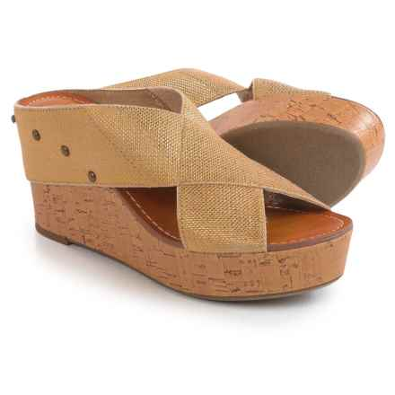 Madeline Adonis Wedge Sandals (For Women) in Gold - Closeouts