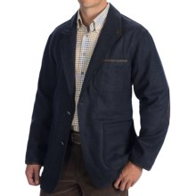 Madison Creek Outfitters Country Manor Jacket - Lambswool (For Men) in Navy - Closeouts