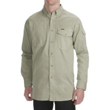 Madison Creek Outfitters Sportsman Twill Shirt - Long Sleeve (For Men) in Sage - Closeouts