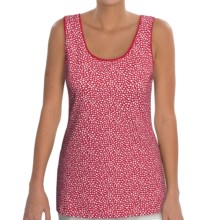 Madison Hill Knit Tank Top - Stretch Cotton (For Women) in Poppy - Closeouts