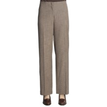 Madison Hill Mini-Houndstooth Pants (For Women) in Multi - Closeouts