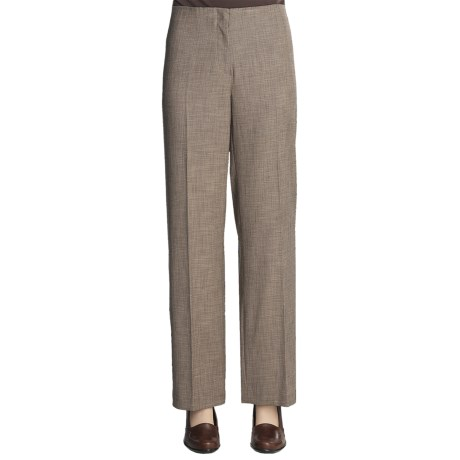 Madison Hill Mini-Houndstooth Pants (For Women) in Multi