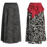 Madison Hill Reversible Crepe Skirt (For Women)