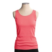 Madison Hill Tank Top - Pima Cotton (For Women) in Aspen Pink - Closeouts