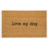 "Madison Home Love My Dog Coir Doormat - 20x34"""