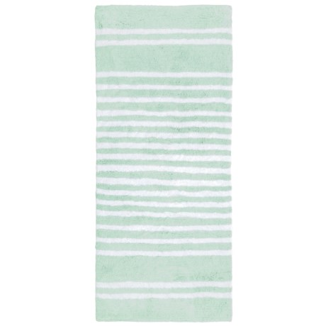"Madison Home Runner Bath Rug - 22x54"" in Mineral White"