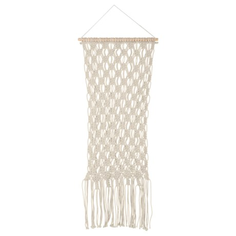 """Madison Macrame Wall Hanging - 18x36"""" in Natural"""