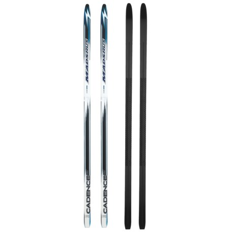 Madshus Cadence 100 Cross-Country Touring Skis in See Photo