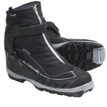 Madshus Glittertind Touring Cross-Country Ski Boots - NNN BC (For Men and Women) in Black - Closeouts