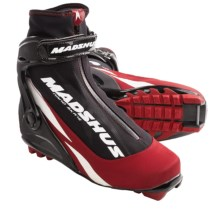 Madshus Nano Cross-Country Skate Ski Boots - NNN (For Men and Women) in Black/Red - Closeouts