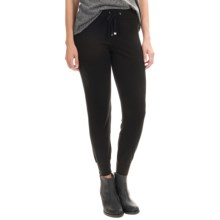 Magaschoni Silk and Cashmere Knit Joggers (For Women) in Black - Closeouts