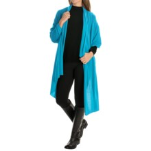 Magaschoni The Luxe Cashmere Whisper Shawl (For Women) in Parrot - Closeouts
