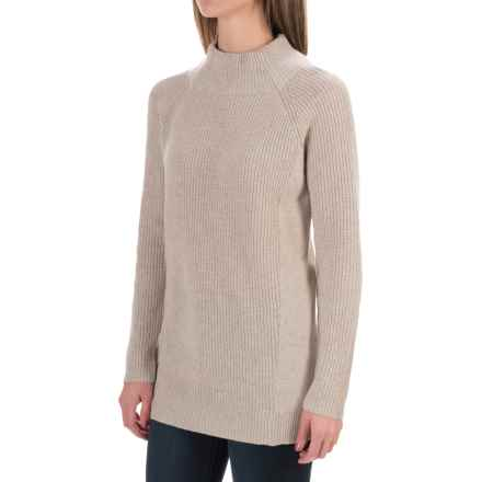 Magaschoni Wool and Cashmere Sweater - Loose Fit, Long Sleeve (For Women) in Millet - Closeouts