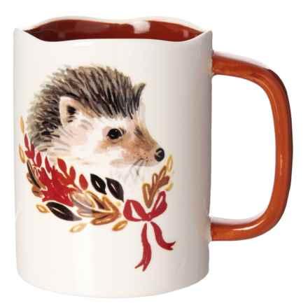 Magenta Angela Staehling Hedgehog Mug in Multi - Closeouts
