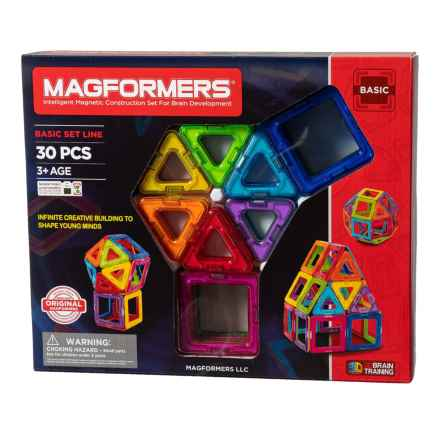 Magformers Rainbow Set - 30 Pieces in See Photo - Closeouts