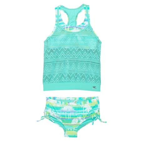 b5f16d657b43b Magic Mirage Crochet Tankini Set (For Big Girls) - ARUBA (12 )