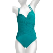 Magicsuit by Miraclesuit Inga Swimsuit - 1-Piece, Underwire (For Women) in Jade - Closeouts