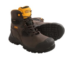 "Magnum Chicago 6"" Work Boots - Waterproof, Composite Safety Toe (For Men) in Coffee - Closeouts"