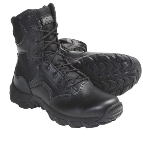 Magnum Cobra 8.0 SZ Duty Boots - Leather (For Men) in Black