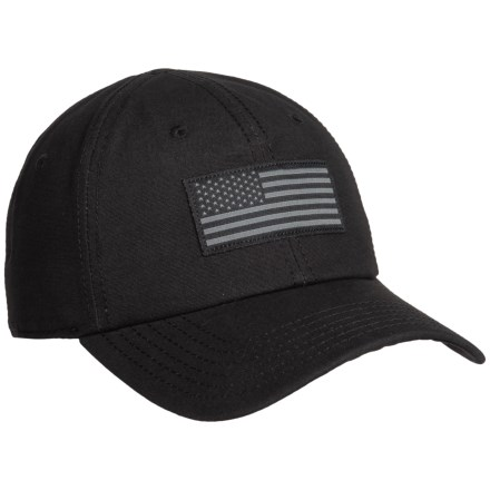 c0421baa0ca Magnum Flag Baseball Cap (For Men) in Black - Closeouts