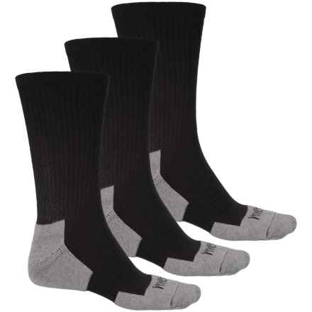 Magnum Tactical Work Socks - 3-Pack, Crew (For Men) in Black - Closeouts