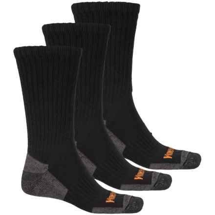 Magnum Work Socks - 3-Pack, Crew (For Men) in Black - Closeouts