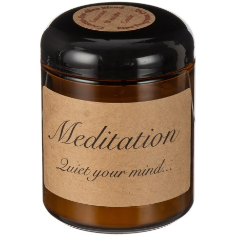 Magpie Primitives Meditation Spa Soy-Blend Candle - 8 oz. in Amber