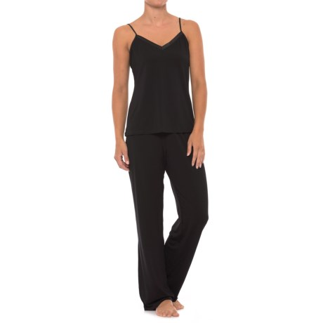 Maidenform Camisole Pajamas - V-Neck, Sleeveless (For Women) in Black
