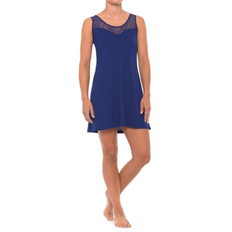 Maidenform Sweetheart Nightgown - Sleeveless (For Women) in Blue Depths