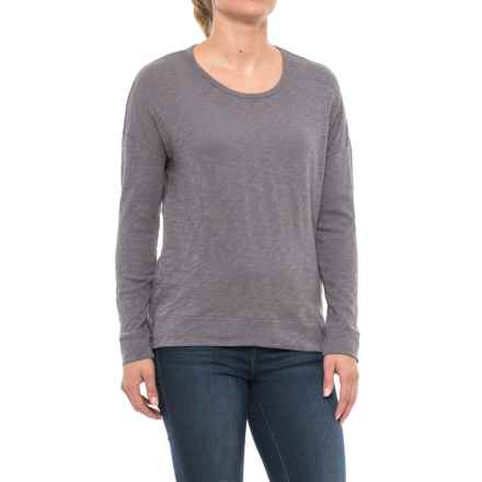 Maison Cinqcent 500 Denim  Shirt - Long Sleeve (For Women) in Volcanic - Closeouts