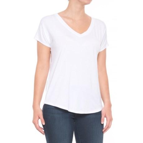 Maison Cinqcent Crossover Shirt - Short Sleeve (For Women) in White