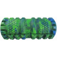 Maji Sports Chillaxo Tissue Massage Foam Roller - Taffy Pattern in Blue/Green - Closeouts