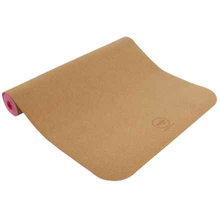 Maji Sports Cork Yoga Mat in Pink - Closeouts