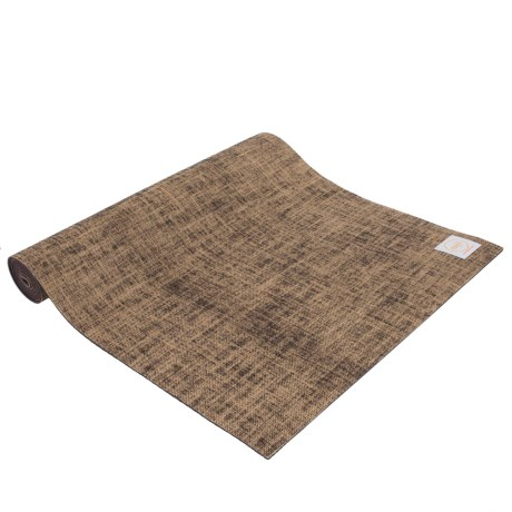 Maji Sports Jute Yoga Mat in Brown