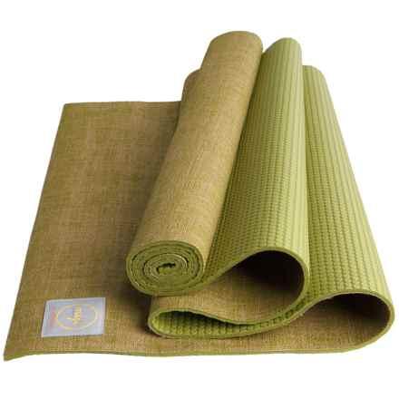 Maji Sports Jute Yoga Mat in Moss - Closeouts
