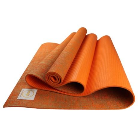 Maji Sports Jute Yoga Mat in Orange