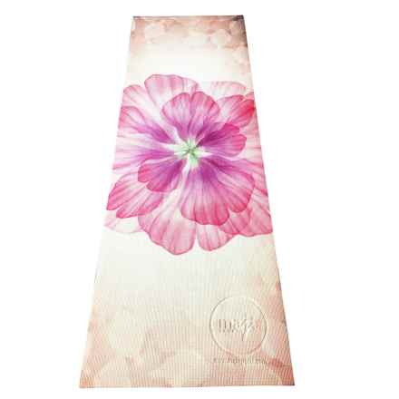Maji Sports Laser-Printed Yoga Mat - 5mm in Floral Flow - Closeouts