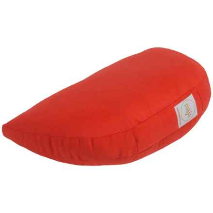 Maji Sports Om Zafu Meditation Cushion in Red - Overstock