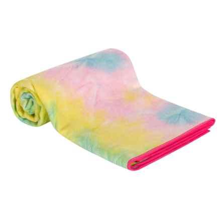Maji Sports Premium Microfiber Tie-Dye Sandwash Yoga Towel in Summer - Closeouts