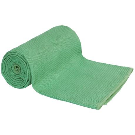 Maji Sports Silicon Waffle Yoga Towel
