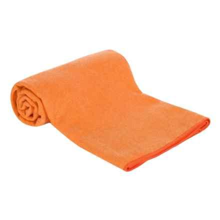 Maji Sports Skidless Terry Premium Microfiber SandwashYoga Towel in Orange - Closeouts