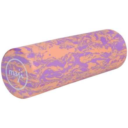 "Maji Sports Taffy Smooth Foam Roller - 6x18"" in Purple Orange - Closeouts"