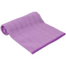 Maji Sports The Fusion Hot Yoga Towel/Mat in Purple - Closeouts