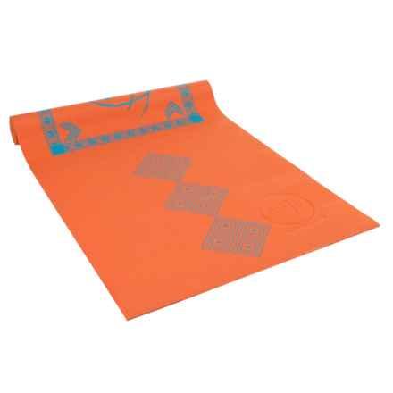Maji Sports Two-Tone Yoga Mat - PVC in Orange - Overstock