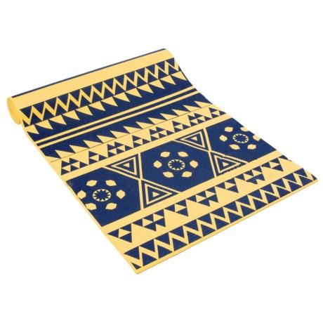 Maji Sports Two-Tone Yoga Mat - PVC in Yellow