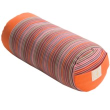 "Maji Sports Yoga/Pilates/Massage Bolster - 13"" in Orange - Closeouts"